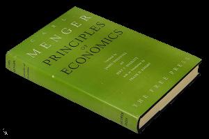 کتاب اصول علم اقتصاد کارل منگر